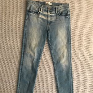Wildfox Marriane Mid Rise Skinny Jean